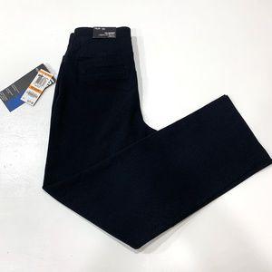 Style Co Straight Leg Pants Black Pull-on Petites
